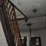 Treppenhaus mit Jugendstil-Bemalung